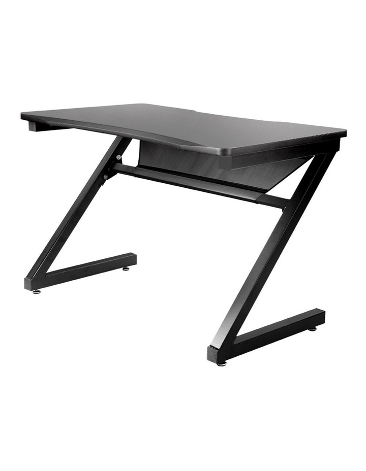 Gaming Desk Carbon Fiber Style Study Office Computer Laptop Racer Table image 3