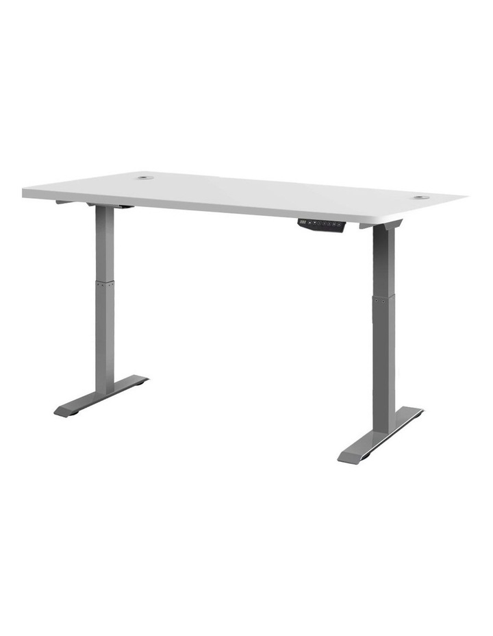 Height Adjustable Standing Desk Electric Motorised Sit Stand Table Office image 1