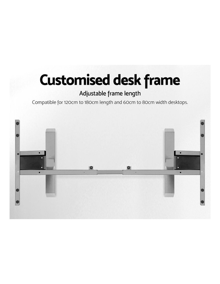 Height Adjustable Standing Desk Electric Motorised Sit Stand Table Office image 6
