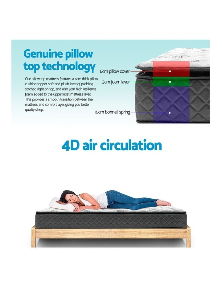 Double Size Pillow Top Foam Mattress image 4