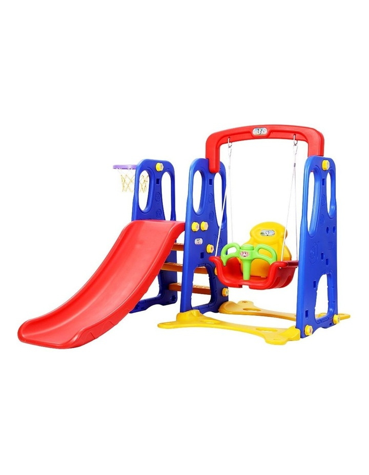 Slide Swing Basketball Hoop Outdoor Indoor Playground Play slides image 1