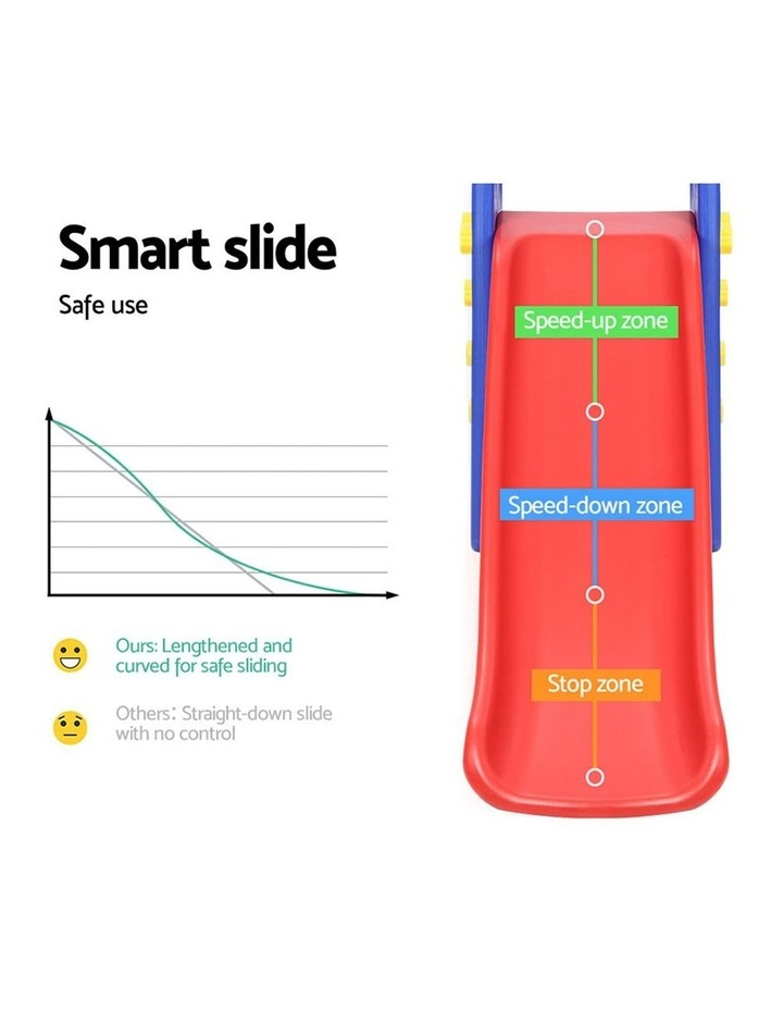 Slide Swing Basketball Hoop Outdoor Indoor Playground Play slides image 4