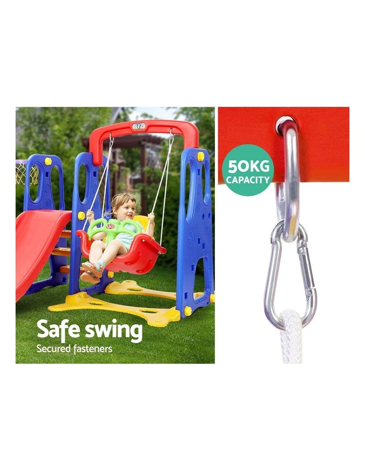 Slide Swing Basketball Hoop Outdoor Indoor Playground Play slides image 6