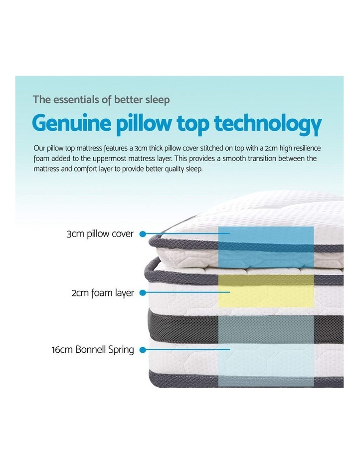 Double Size Pillow Top Foam Mattress image 6