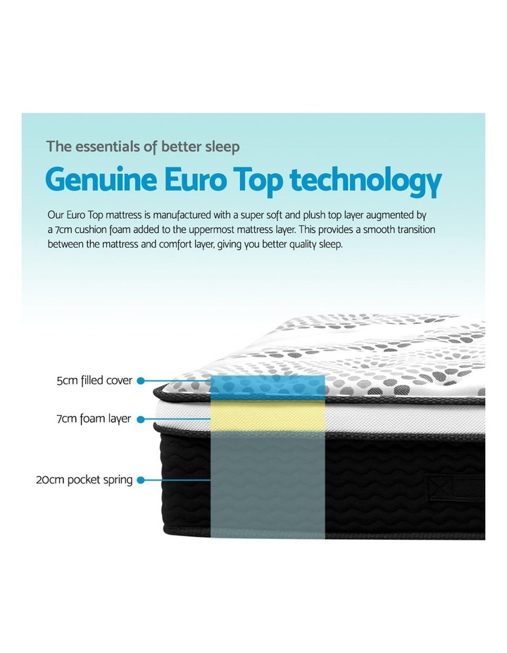 King Size Euro Foam Mattress image 5