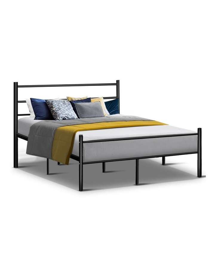 Metal Queen Bed Frame - Black image 1