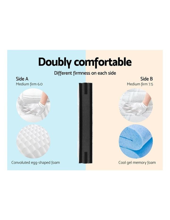 36Cm King Mattress 7 Zone Euro Top Pocket Spring Medium Firm Foam image 3