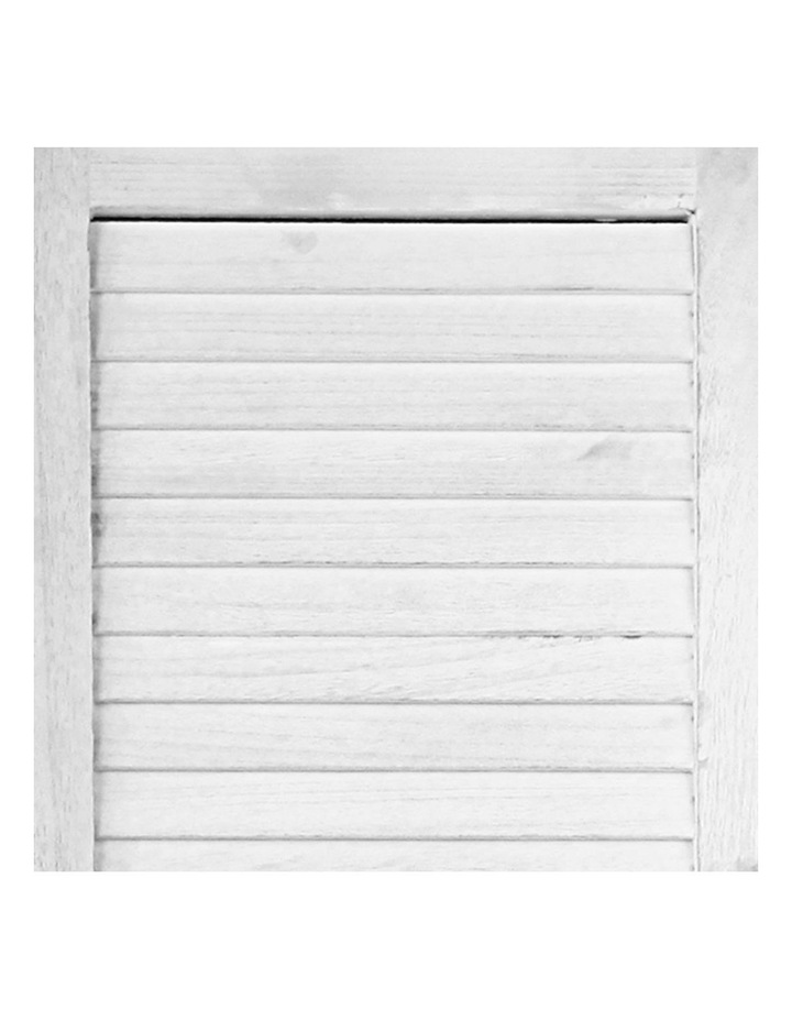 3 Panel Room Divider Screen Privacy Wood Foldable Timber Stand White 170 image 5