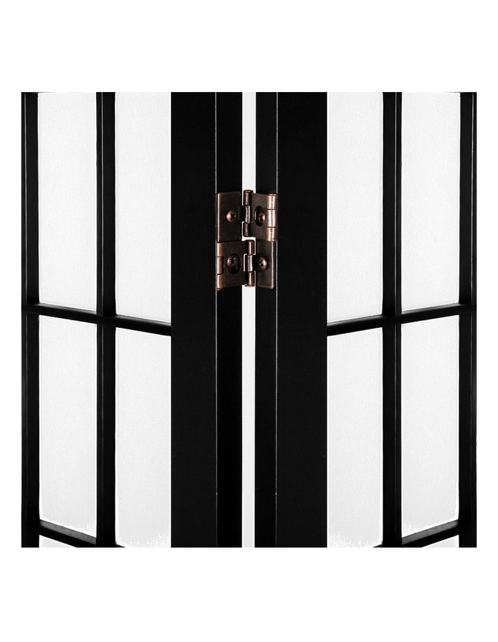 6 Panel Room Divider Screen Dividers Timber Privacy Stand Black image 5