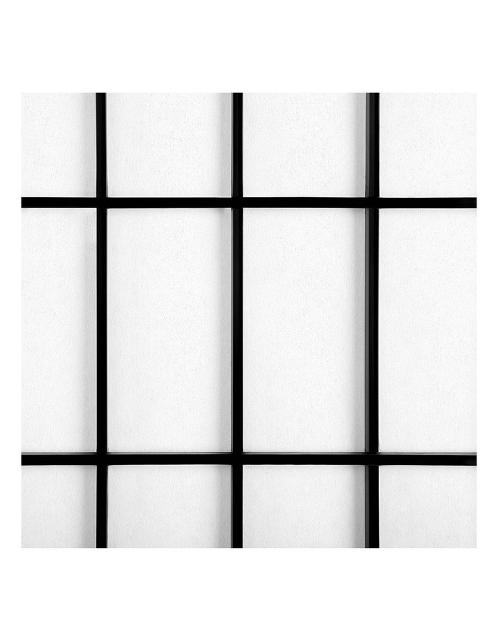 6 Panel Room Divider Screen Dividers Timber Privacy Stand Black image 6