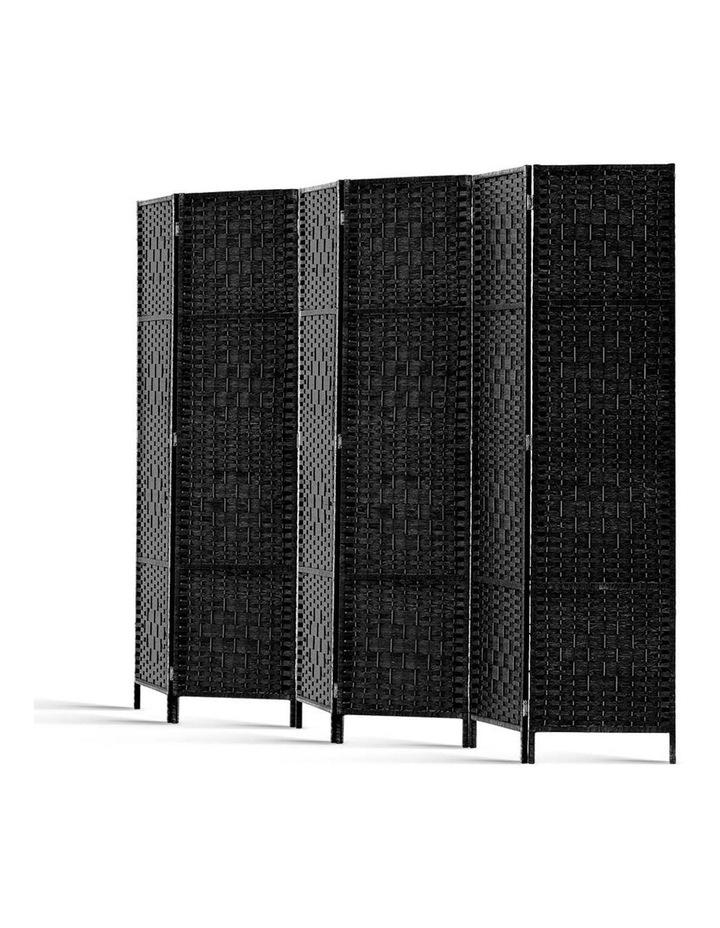 6 Panel Room Divider - Black image 4