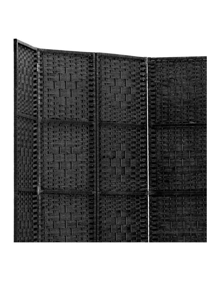 6 Panel Room Divider - Black image 5
