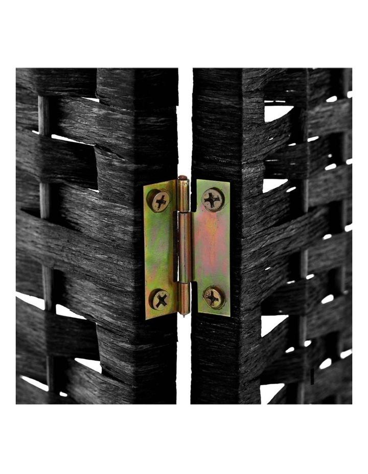 6 Panel Room Divider - Black image 6