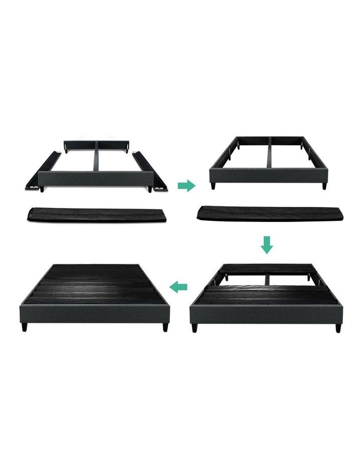 DOUBLE Size Bed Base Frame BRISKPlatform Mattress Char image 3