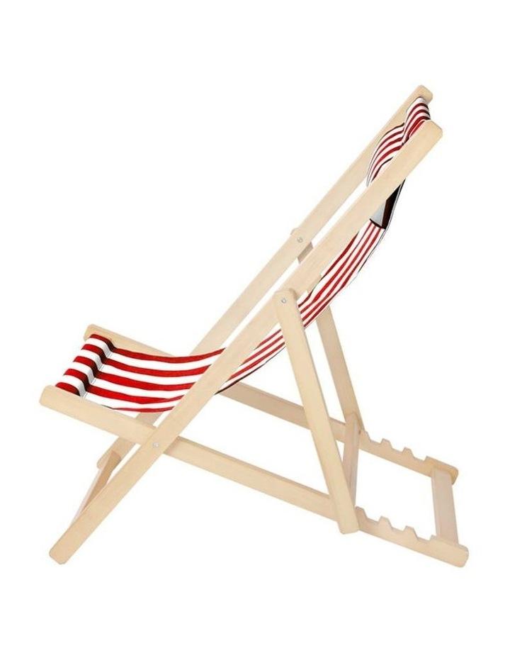 Artiss Outdoor Furniture Sun Lounge Chairs Deck Chair Folding Wooden Beach Patio image 3