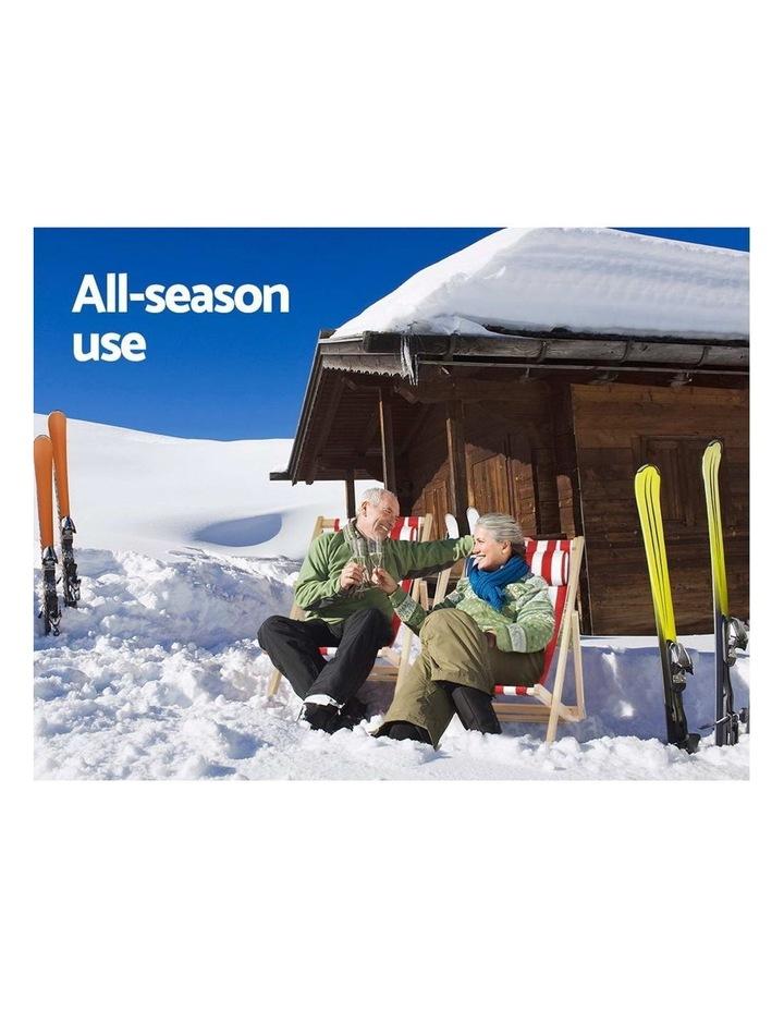 Artiss Outdoor Furniture Sun Lounge Chairs Deck Chair Folding Wooden Beach Patio image 5