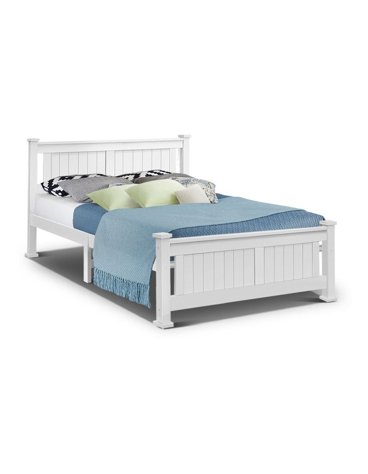 Queen Wooden Timber Bed Frame RIO Kids Adults Mattress Base Size image 1