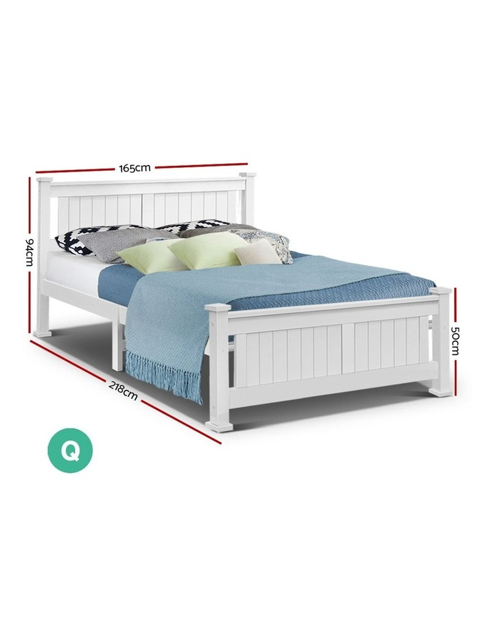 Queen Wooden Timber Bed Frame RIO Kids Adults Mattress Base Size image 2