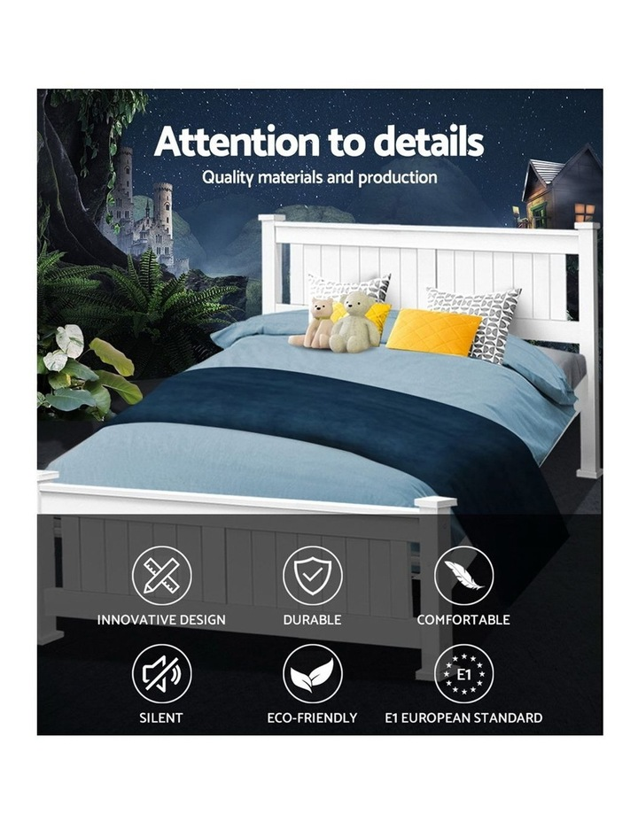 Queen Wooden Timber Bed Frame RIO Kids Adults Mattress Base Size image 3