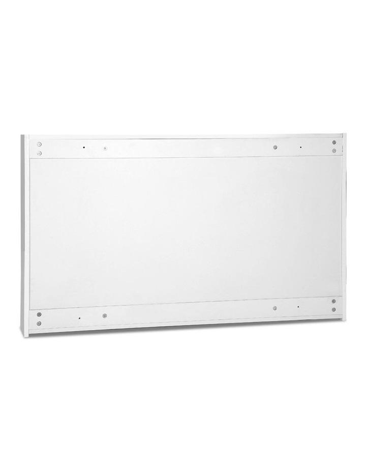 Bathroom Vanity Mirror with Storage Cabinet - White image 3