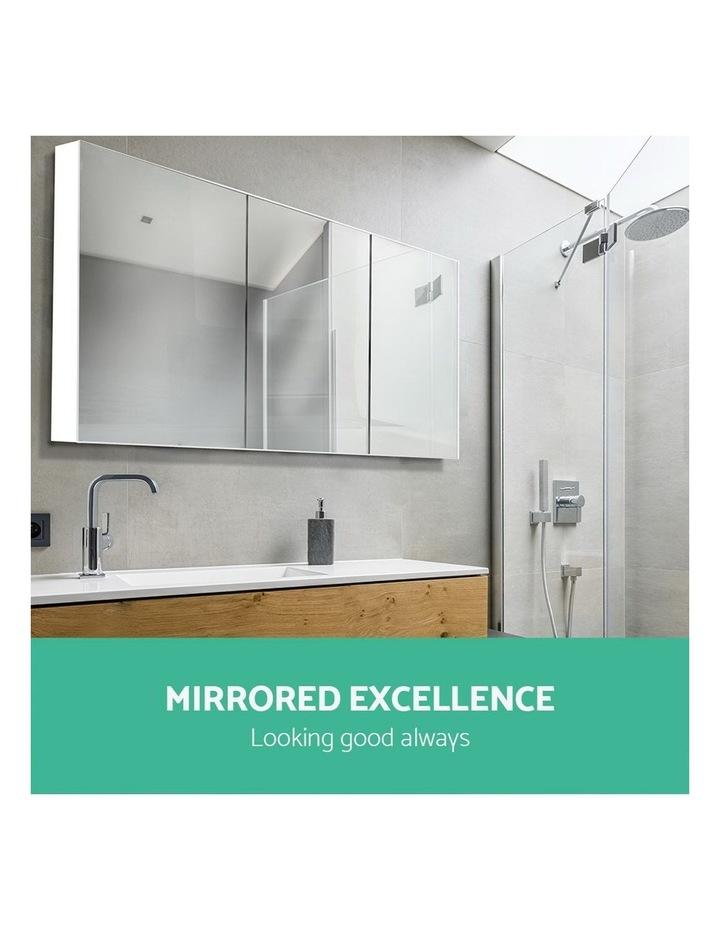 Bathroom Vanity Mirror with Storage Cabinet - White image 6