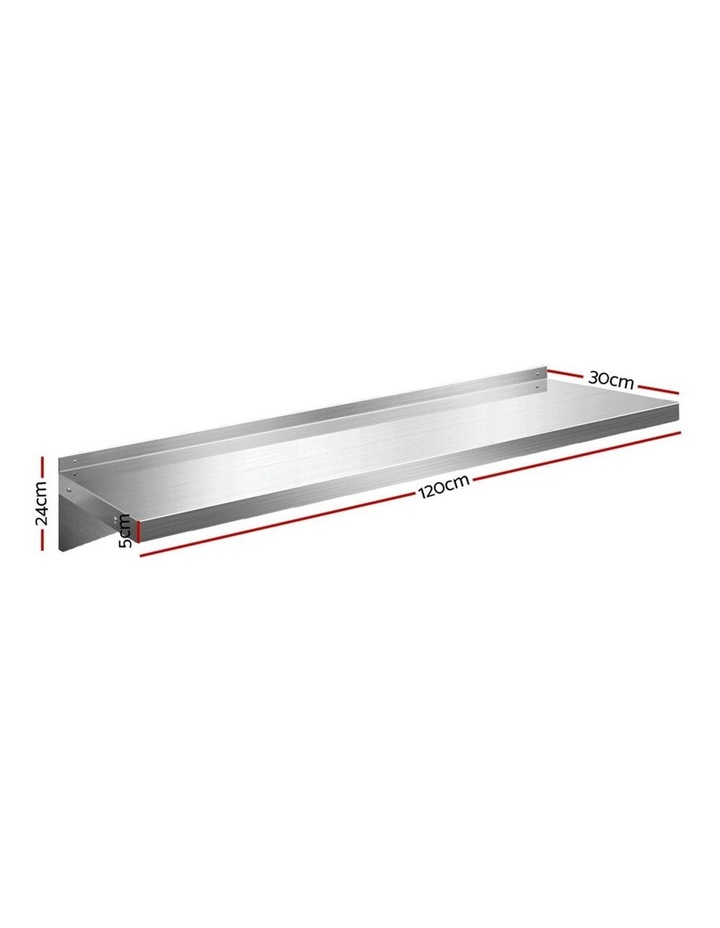 Cefito Stainless Steel Wall Shelf image 2