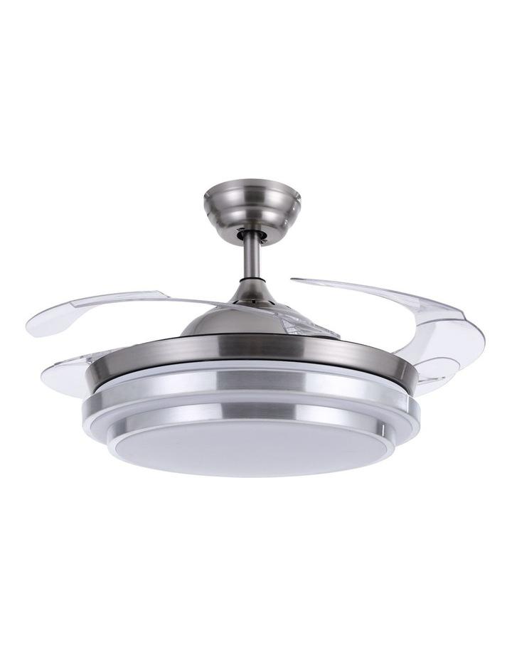42'' Ceiling Fan Lamp LED Light Retractable Blade Ceiling Fan w/Remote image 1