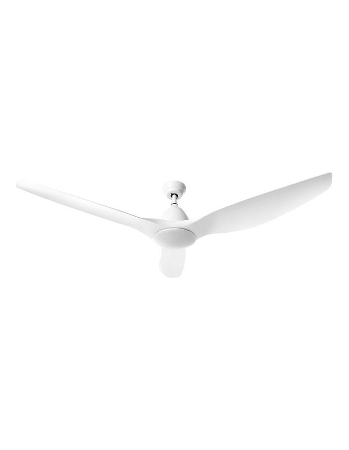 64'' DC Motor Ceiling Fan w/LED Light w/Remote 8H Timer Reverse Mode 5 Speeds image 1