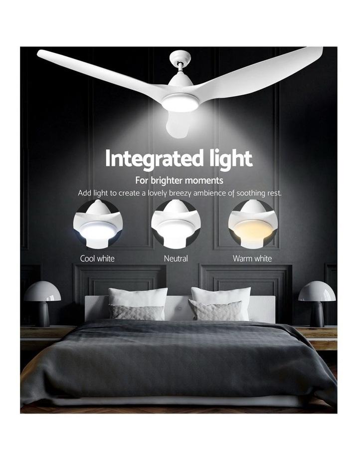 64'' DC Motor Ceiling Fan w/LED Light w/Remote 8H Timer Reverse Mode 5 Speeds image 5