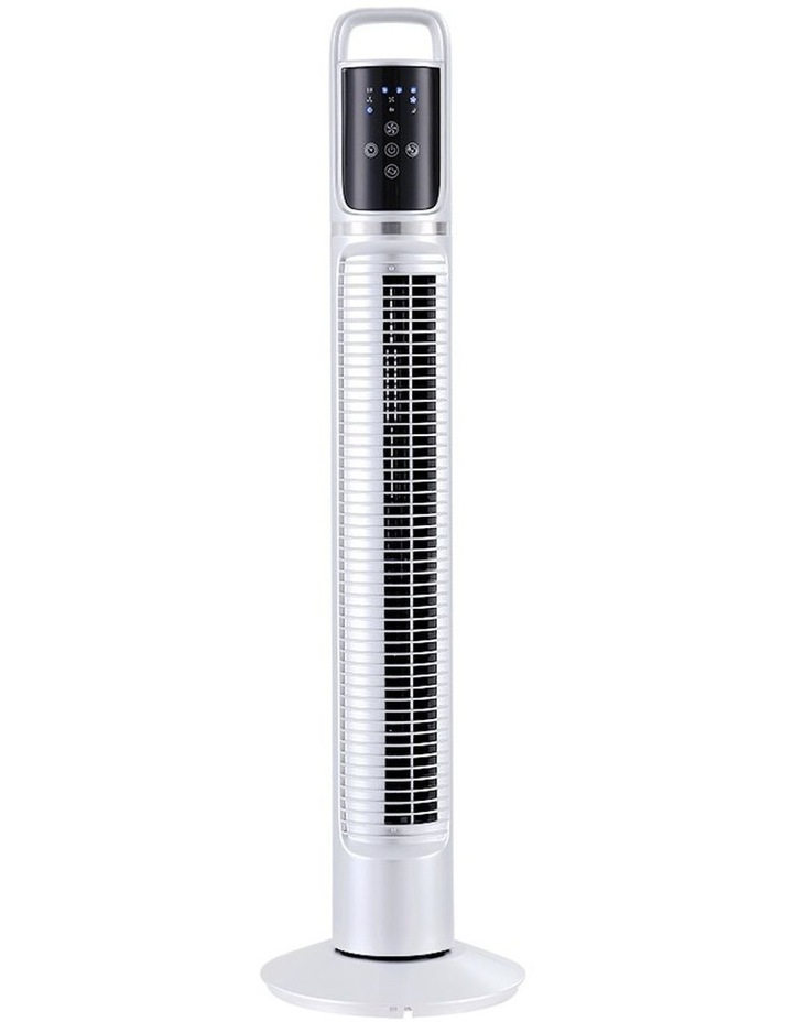 80cm 32 Tower Fan Bladeless Fans Oscillating W/Remote Timer White image 1
