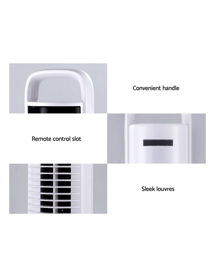 80cm 32 Tower Fan Bladeless Fans Oscillating W/Remote Timer White image 6