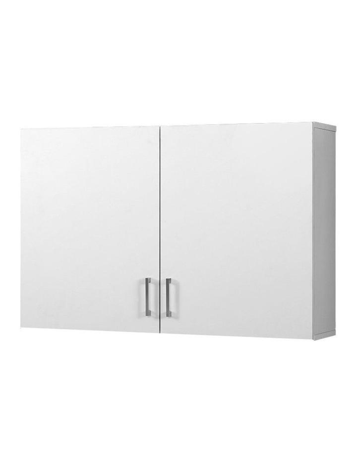 Bathroom Kitchen Bedroom Cabinet Storage Unit Cupboard Organizer White image 1