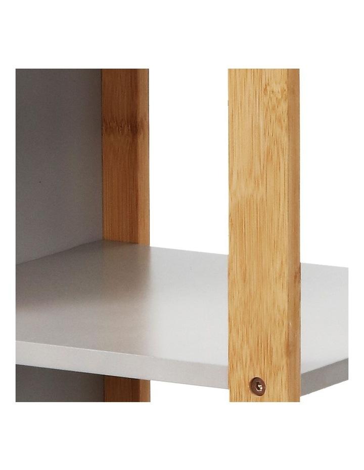 Bathroom Cabinet Tallboy Furniture Toilet Storage Laundry Cupboard 115cm image 3