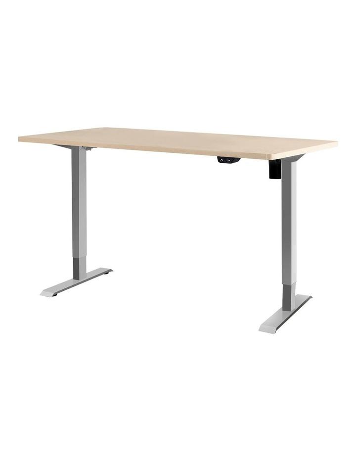 Standing Desk Height Adjustable Sit Stand Laptop Computer Table Motorised Electric Frame Riser 140cm image 1