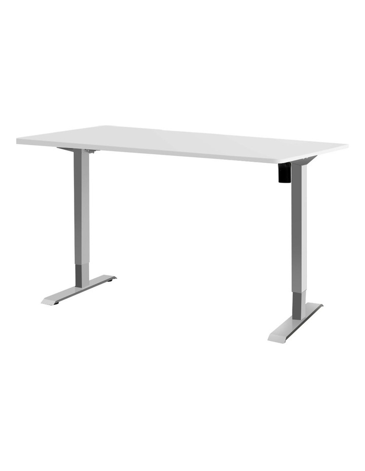Standing Desk Height Adjustable Motorised Electric Sit Stand Computer Table 140cm image 1