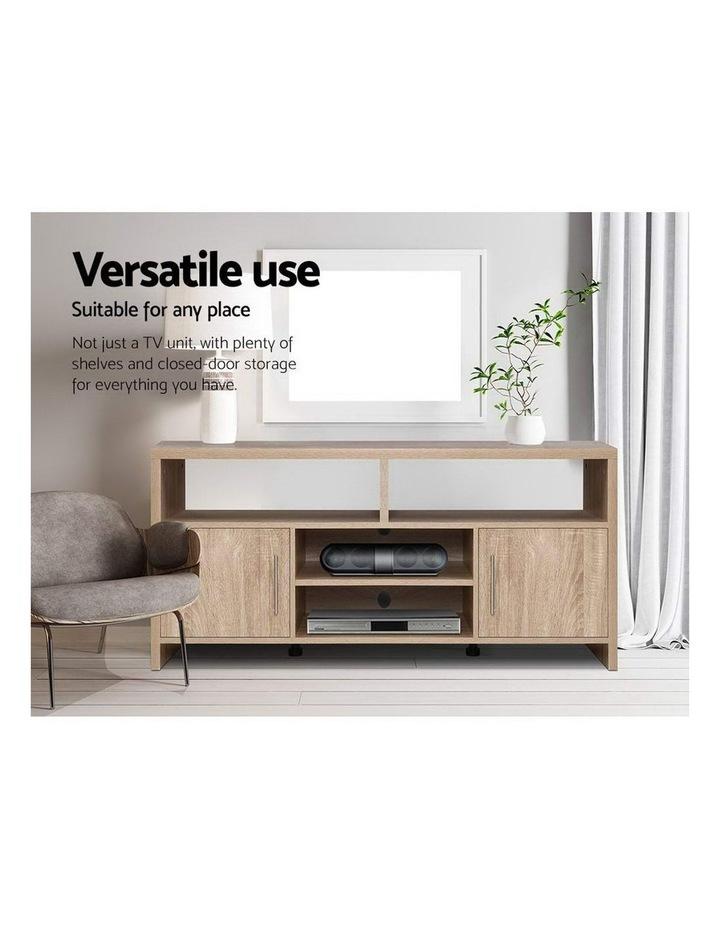 TV Cabinet Entertainment Unit Stand Storage Shelf Sideboard 140cm Oak image 6