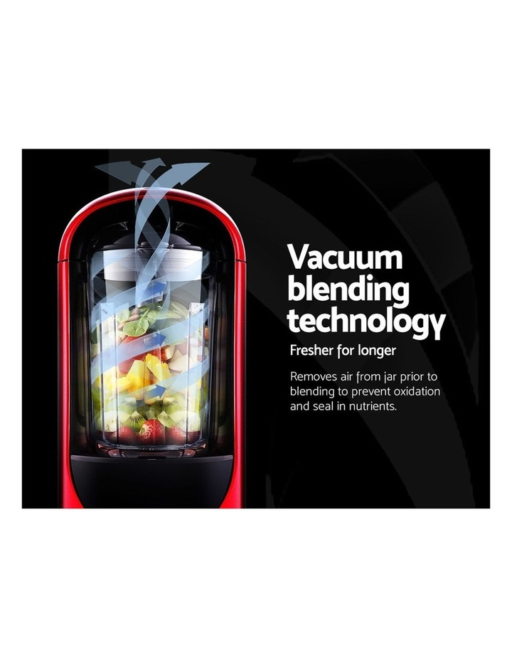 Vacuum Blender Commercial Juicer Mixer Food Processor Ice Crush Red image 5