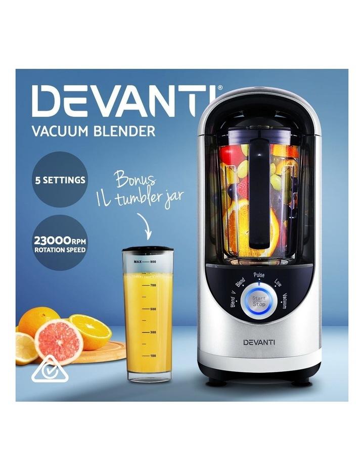 Commercial Vacuum Blender Juicer Mixer Food Processor Smoothie Silver image 3