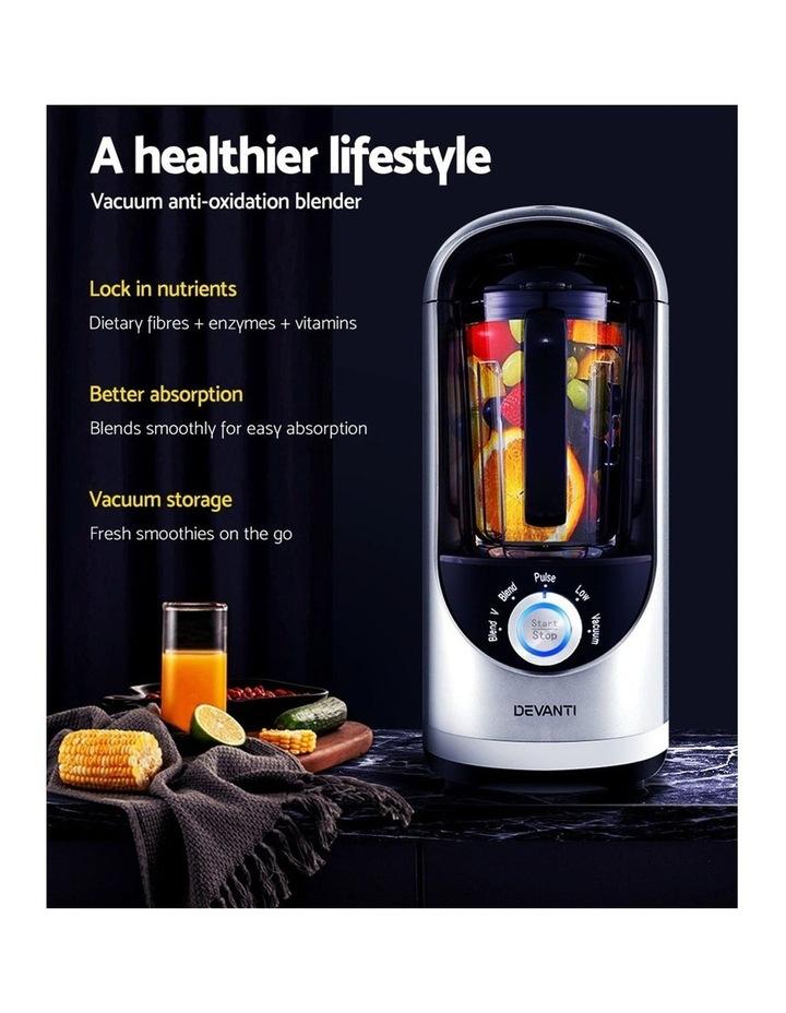 Commercial Vacuum Blender Juicer Mixer Food Processor Smoothie Silver image 4