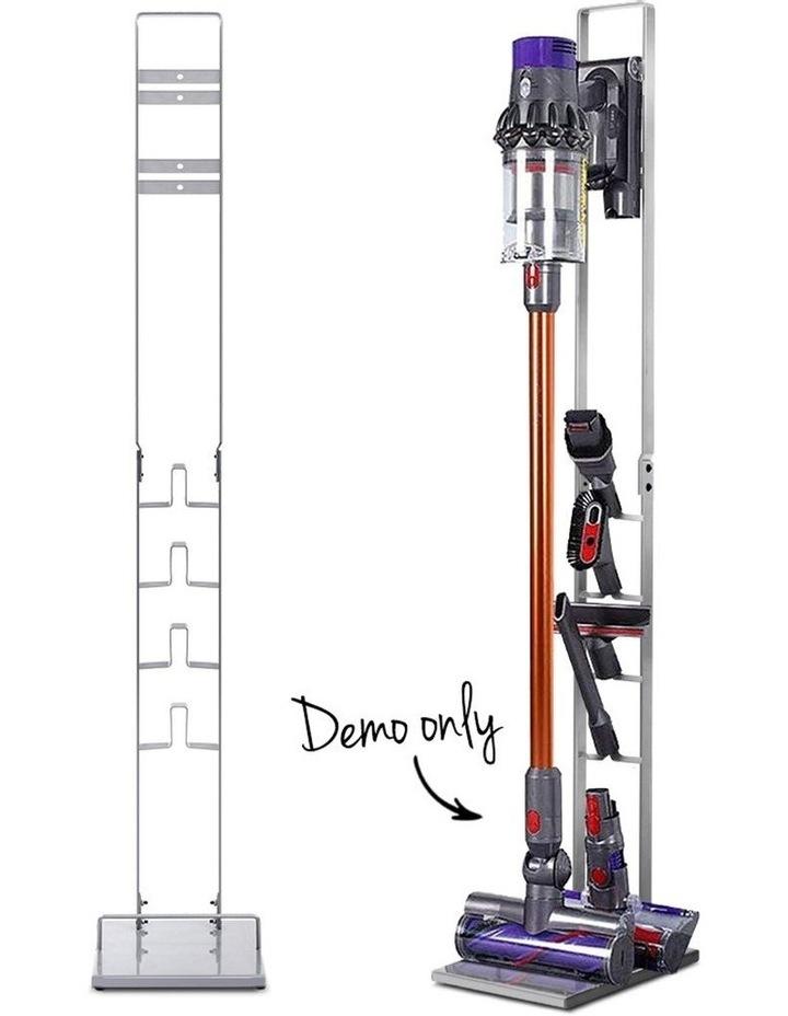 Freestanding Dyson Vacuum Stand Rack Holder Cordless Handheld Cleaner V6 7 8 V10 V11 Silver image 1