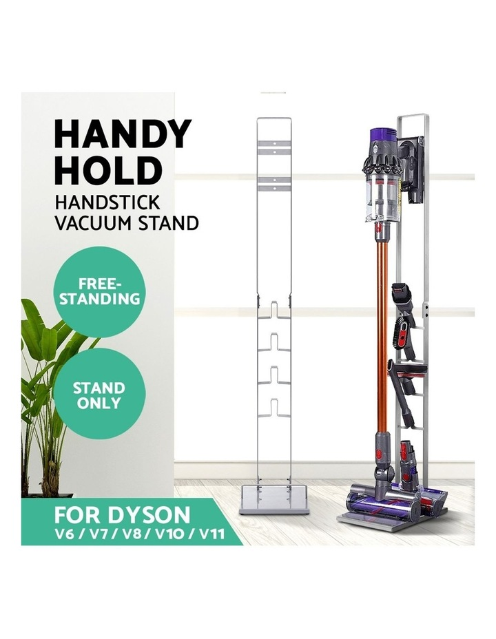 Freestanding Dyson Vacuum Stand Rack Holder Cordless Handheld Cleaner V6 7 8 V10 V11 Silver image 3
