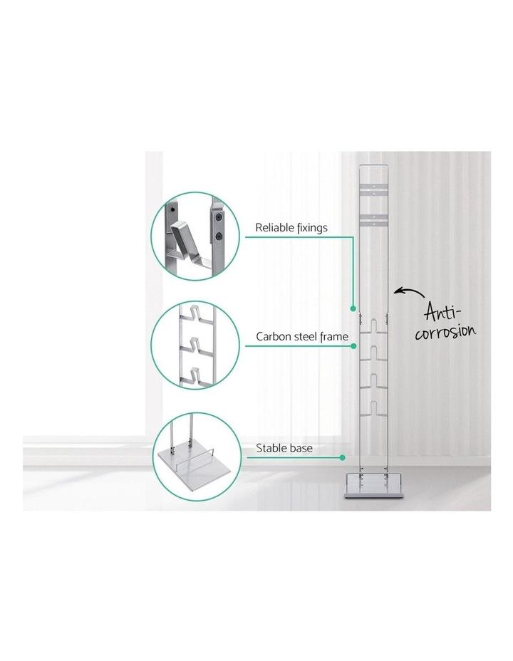 Freestanding Dyson Vacuum Stand Rack Holder Cordless Handheld Cleaner V6 7 8 V10 V11 Silver image 4