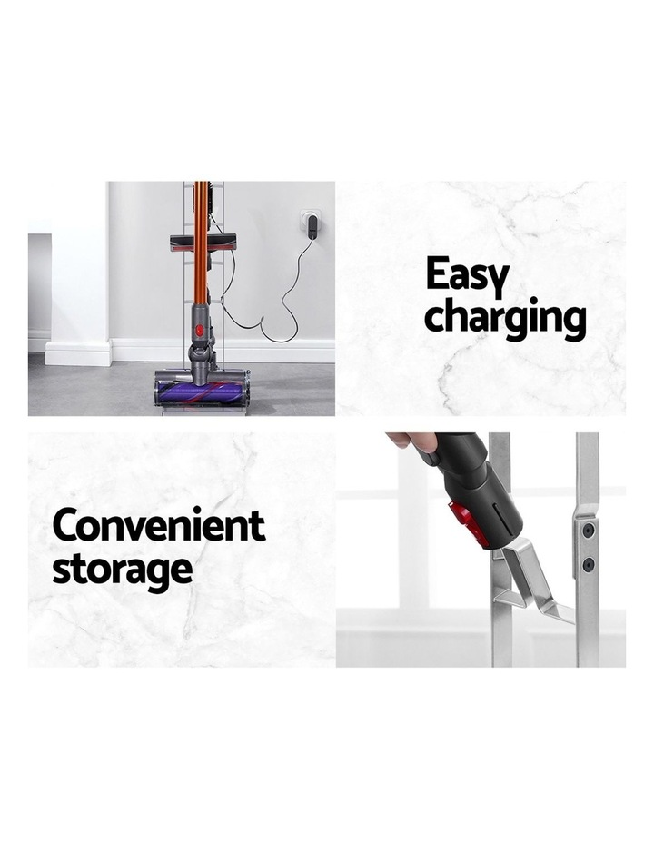 Freestanding Dyson Vacuum Stand Rack Holder Cordless Handheld Cleaner V6 7 8 V10 V11 Silver image 5