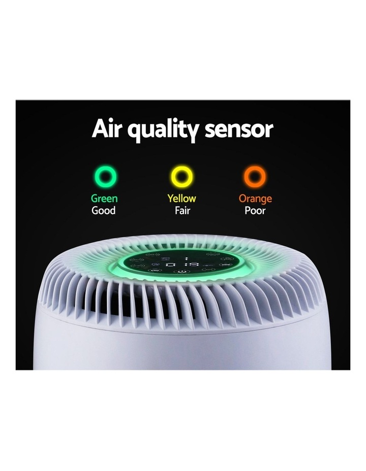 Air Purifier Desktop Purifiers HEPA Filter Home Freshener Carbon Ioniser image 4