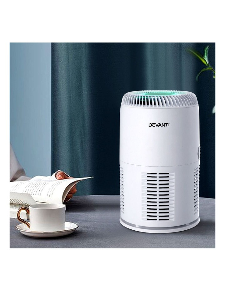 Air Purifier Desktop Purifiers HEPA Filter Home Freshener Carbon Ioniser image 6