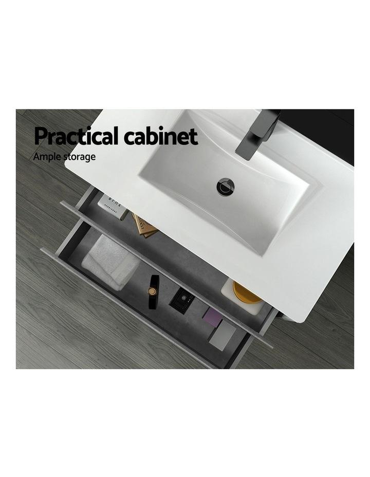 900mm Bathroom Vanity Cabinet Basin Unit Sink Storage Wall Mounted Cement image 5