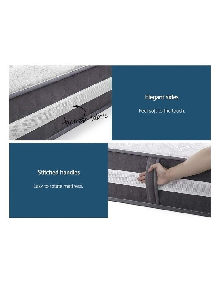 Double Mattress Bed Size 7 Zone Pocket Spring Medium Firm Foam 30cm image 5