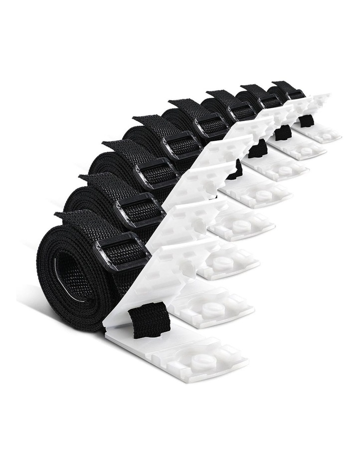 Aquabuddy Pool Cover Roller Attachment Straps Kit 8PCS for Swimming Solar Pool image 1