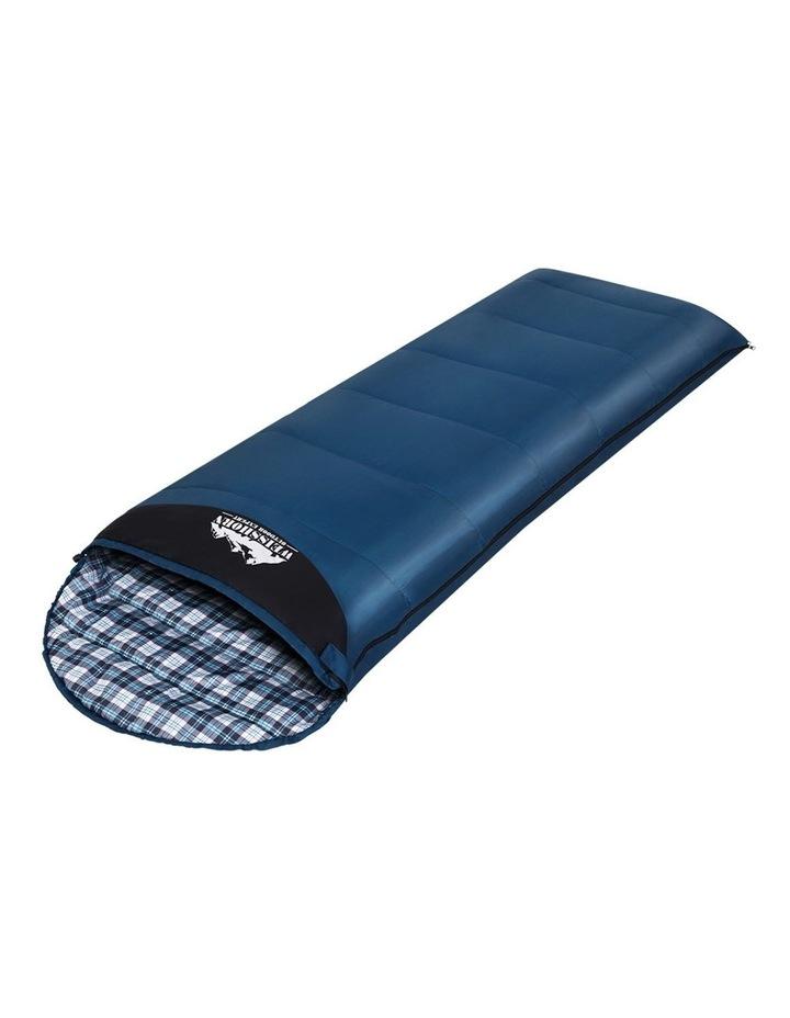 Sleeping Bag Bags Single Camping Hiking Tent Winter Thermal Navy image 1