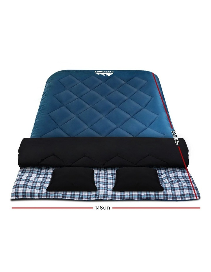Sleeping Bag Double Size in Blue image 2